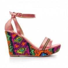 Sandale dama Leah rosii