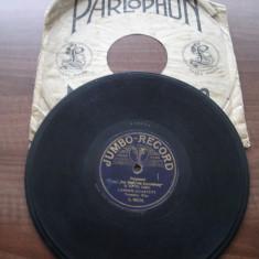 Placa gramofon/patefon - muzica de camera germana