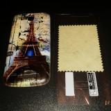 Capac baterie + folie protectie ecran pentru Samsung Galaxy S4 mini
