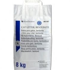 Pisica - Asternut pentru pisici, bentonita, gri, 8 kg