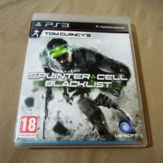 Joc Tom Clancy's Splinter Cell Black List, PS3, original, (gamestore)! - Jocuri PS3 Altele, Actiune, 18+, Single player