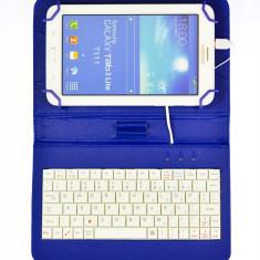Husa tableta 7'' universala cu tastatura USB
