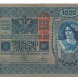 Bancnota Straine, Europa, An: 1902 - SV * Austria Ungaria 1000 KRONEN / COROANE 1902-1919 DeutschOstereich VF+