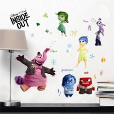 Sticker/autocolant perete Camera Copilului Inside Out