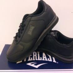 Adidas original piele naturala - Adidasi dama Everlast, Marime: 37, 38, 39, 35.5, 41, Culoare: Negru