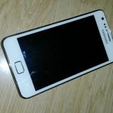 Telefon mobil Samsung Galaxy S2, Alb, 16GB, Neblocat - Samsung Galaxy S2 i9100 (+ microSD card 4 Gb + incarcator USB POWER-TO-GO)