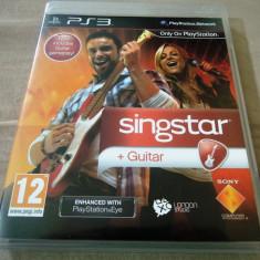 Joc Singstar + Guitar, PS3, original, alte sute de jocuri! - Jocuri PS3 Sony, Simulatoare, 12+, Multiplayer