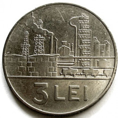 ROMANIA, 3 LEI 1966 - Moneda Romania, Crom