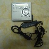 CD player - Minidisc portabil Sony MZ-R700 cu telecomanda si casti