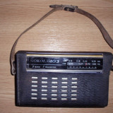 Aparat radio - RADIO SOKOL 403, 7 TRANZISTOARE, FUNCTIONEAZA SI ARATA IMPECABIL .