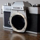 Body Yashica FX-2 in montura Contax/Yashica - Obiectiv DSLR Yashica, Manual focus