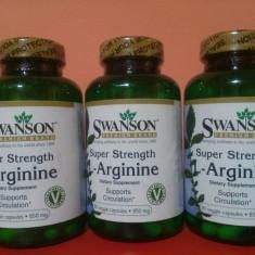 L-ARGININA, 90 de capsule, 850 mg, cel mai bun pret in Romania! - Supliment nutritiv