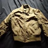 Geaca militara de tanchist model US Army, model mic, kaki, de colectie/vintage