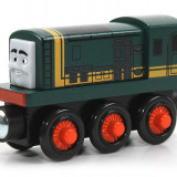 Locomotiva Paxton, Thomas si prietenii sai - Trenulet de jucarie Fisher Price, 2-4 ani, Lemn, Baiat