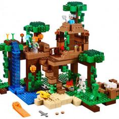 LEGO Minecraft - Casuta din jungla (21125)