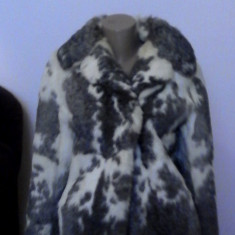 Palton dama - Haina de blana
