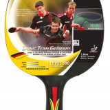 Paleta ping pong - Paleta Tenis de Masa, Donic, Team Germany Line, Level 500, Control, Concav
