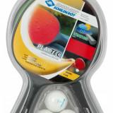 Paleta ping pong - Set 2 Palete Tenis de Masa, Donic, PlayTec Control, + Set 3 Mingi
