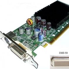 Placa video PCIe, Nvidia GeForce 7300 LE, 256Mb, Low Profile