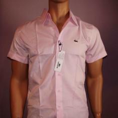Camasa barbati - Camasa barbateasca maneca scurta LACOSTE roz