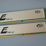 Kit 4GB DDR2 Desktop,2x2GB,Team Elite,Radiator,800Mhz,PC2-6400,CL5(G)