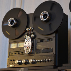 Deck audio - TECHNICS RS 1506 --4 piste impecabil--