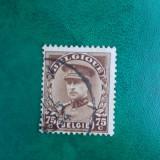 Belgia 1935 regele Albert I serie stampilata