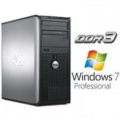 Sisteme desktop fara monitor - Calculatoare Refurbished Dell Optiplex 780 Mt E8400 Windows 7 Pro MAR