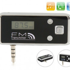 Modulator FM auto - Modulator FM pentru iPhone 4 / 4s / 5 / iPod / MP3 / all 3.5mm audio LH-100