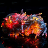 Instalatie electrica Craciun - Instalatie luminoasa pentru Bradul de Craciun 200 leduri int / ext - Multicolora