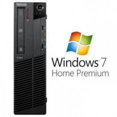 Sisteme desktop fara monitor - Calculatoare Refurbished ThinkCentre M92P Core i5 3470 Windows 7 Home