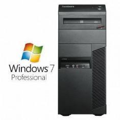 Sisteme desktop fara monitor - Calculatoare Refurbished ThinkCentre M81 i5 2400 Windows 7 Pro