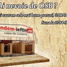 OSB 6, 8, 10, 12, 15, 18, 22 de exterior - Placa OSB