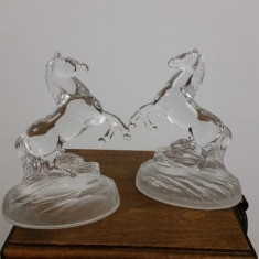 Cai din sticla - Figurina/statueta