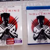 Film SF, BLU RAY, Engleza - Film The Wolverine - Blue Ray + DVD + Digital HD
