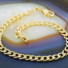 Bratara placate cu aur - Bratara Placata Cu Aur 18k, model zale, cod 733