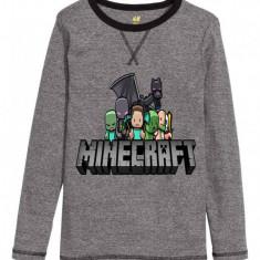 Haine Copii 10 - 12 ani H&m, Bluze, Baieti - Bluza Minecraft