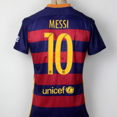 Tricou echipa fotbal - Tricou Barcelona 2015-2016 (Nou si Original 100%)