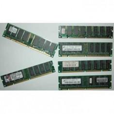 Memorie RAM - Pachet 20x256 SDRAM Calculatoare 100 PC133 Cu FACTURA Si GARANTIE De La INTERPC