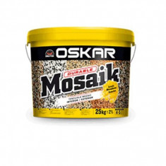Tapet - Tencuiala decorativa Oskar Mosaik 25 kg
