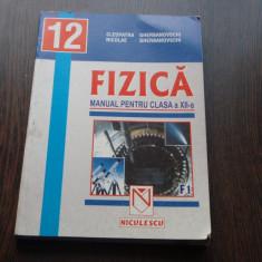 FIZICA MANUAL CLASA A XII-A - CLEOPATRA GHERBANOVSHI, NICOLAE GHERBANOVSHI - Manual scolar niculescu, Clasa 12, Niculescu