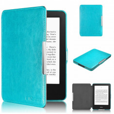 Husa Smart Amazon New Kindle with Touch 7th Gen 2014 Glare Free + stylus