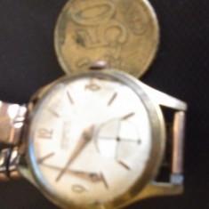 Ceas de mana - Vechi ceas Neowatch placat cu aur