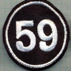 Uniforma militara - 120 -EMBLEMA NUMARUL,, 59