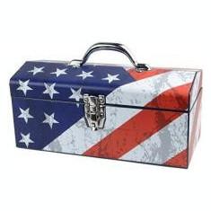 USA Flag - Cutie Metalica pentru Scule 410 mm - MANNESMANN - M41550 - Dulap scule Service