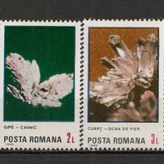 Romania.1985 Flori de mina HR.289 - Timbre Romania, Nestampilat