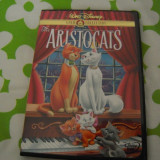 Film animatie disney pictures DVD original Walt Disney - The Aristocats (1970) Sistem NTSC, Engleza