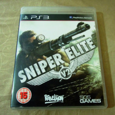 Joc Sniper Elite V2, PS3, original, alte sute de jocuri! - Jocuri PS3 Altele, Shooting, 18+, Single player