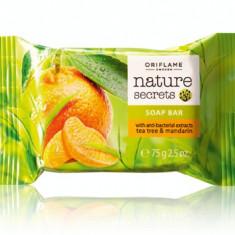 Săpun antibacterian - arbore de ceai şi mandarine Nature Secrets (Oriflame)