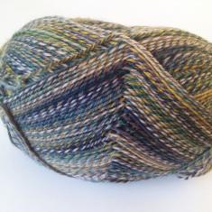 Fire - Fir de tricotat crosetat, lana 75% cu poliamida, moale, degrade